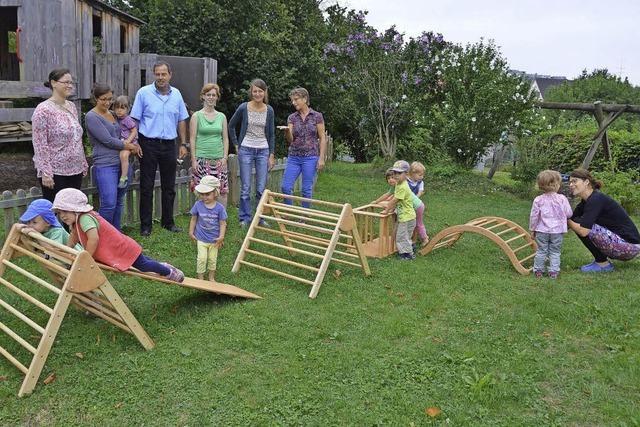 Eltern finanzieren neue Spielgeräte ganz alleine