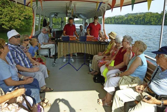 Musikalische Bootsfahrt