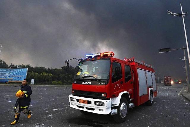 Mindestens 44 Tote nach Explosionen in China