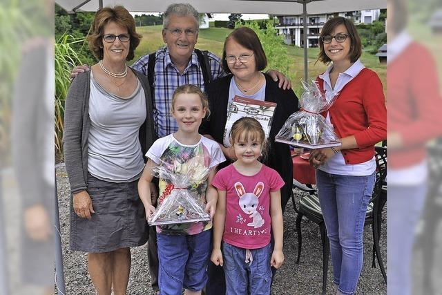 Gäste aus Berlin genießen den Urlaub in Birkendorf