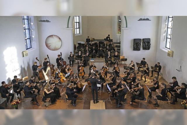 Das Jugend-Sinfonieorchester Aargau in Laufenburg
