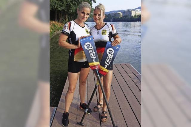 Alexandra Kowatzki und Manja Heyn starten bei der Drachenboot-WM in Kanada