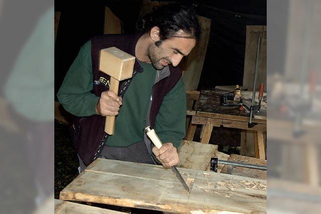 Handwerkliche Kurse im alten Steinbruch in Menzenschwand