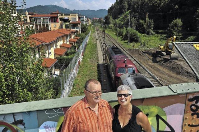 Gleis-Sanierung bringt Nachbarn des Wiehre-Bahnhofs um den Schlaf