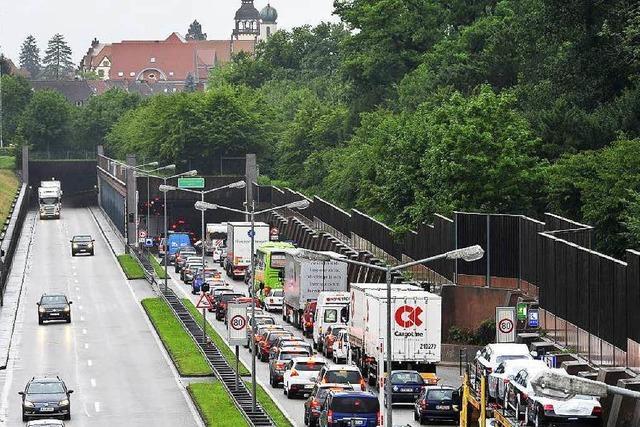 Freiburger Stadttunnel: Hoffnung mischt sich mit Nervosität