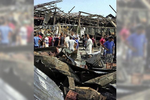 Verheerender Bombenanschlag erschüttert Bagdad