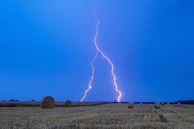 Wetterdienst warnt vor Unwettern im Südwesten
