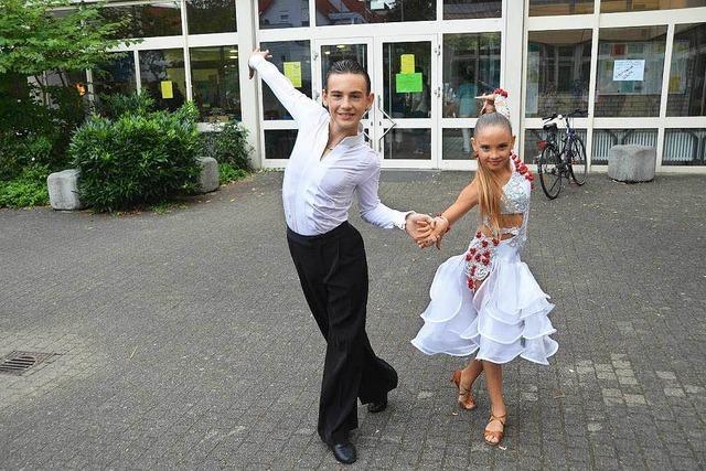 Leon-André Offermann aus Breisach ist leidenschaftlicher Tänzer