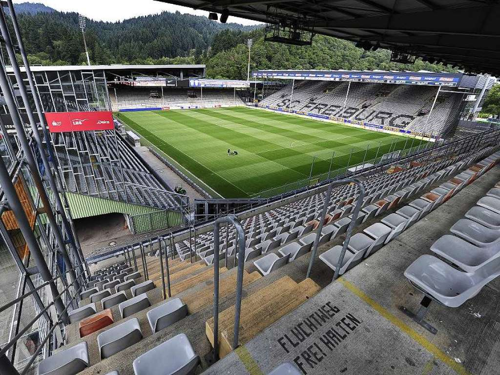 Schwarzwald Stadion Gästeblock