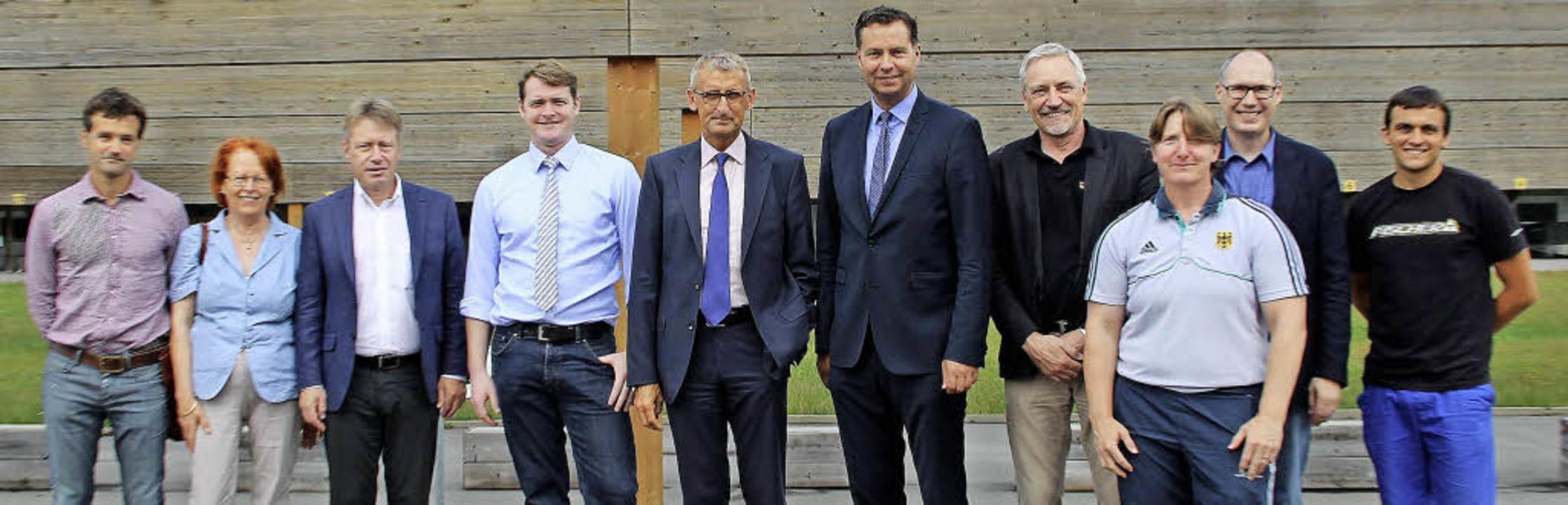 Sie waren alle dabei (von links): Ralf...iner Kiefer (Nordic-Schule Notschrei)   | Foto: zvg