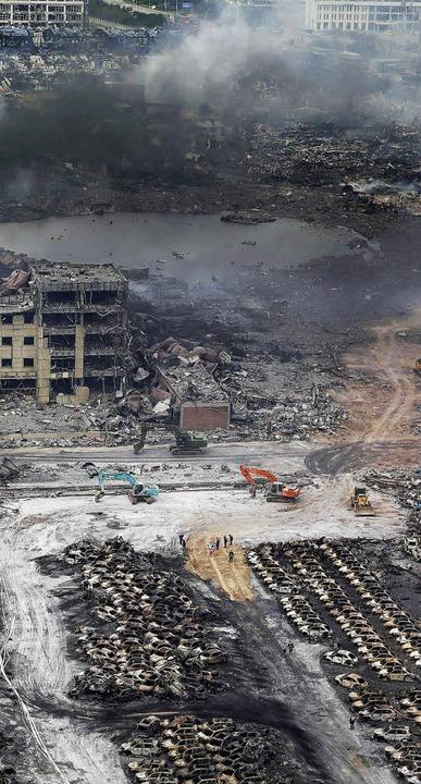 Der Ort der Katastrophe   | Foto: AFP
