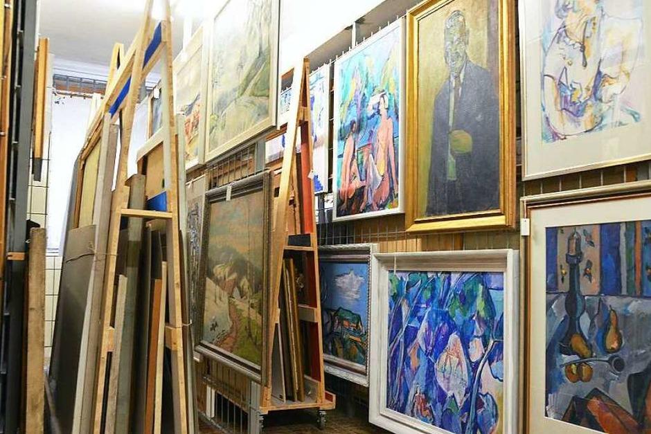 Das Museumsdepot ist das eigentliche Herz des Dreiländermuseums. (Foto: Sina Gesell)