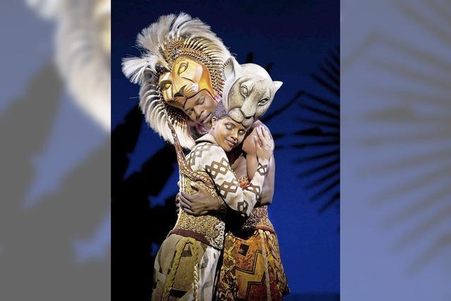 Das Disney-Musical The Lion King in Basel