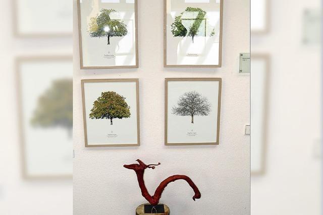 Baumporträts und Holzkunst