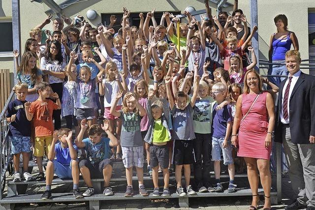 Kinder aus Colmar zu Gast