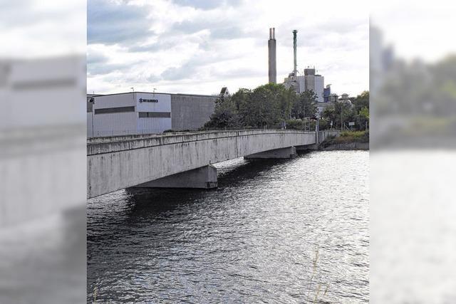 Rheinbrücke wird saniert