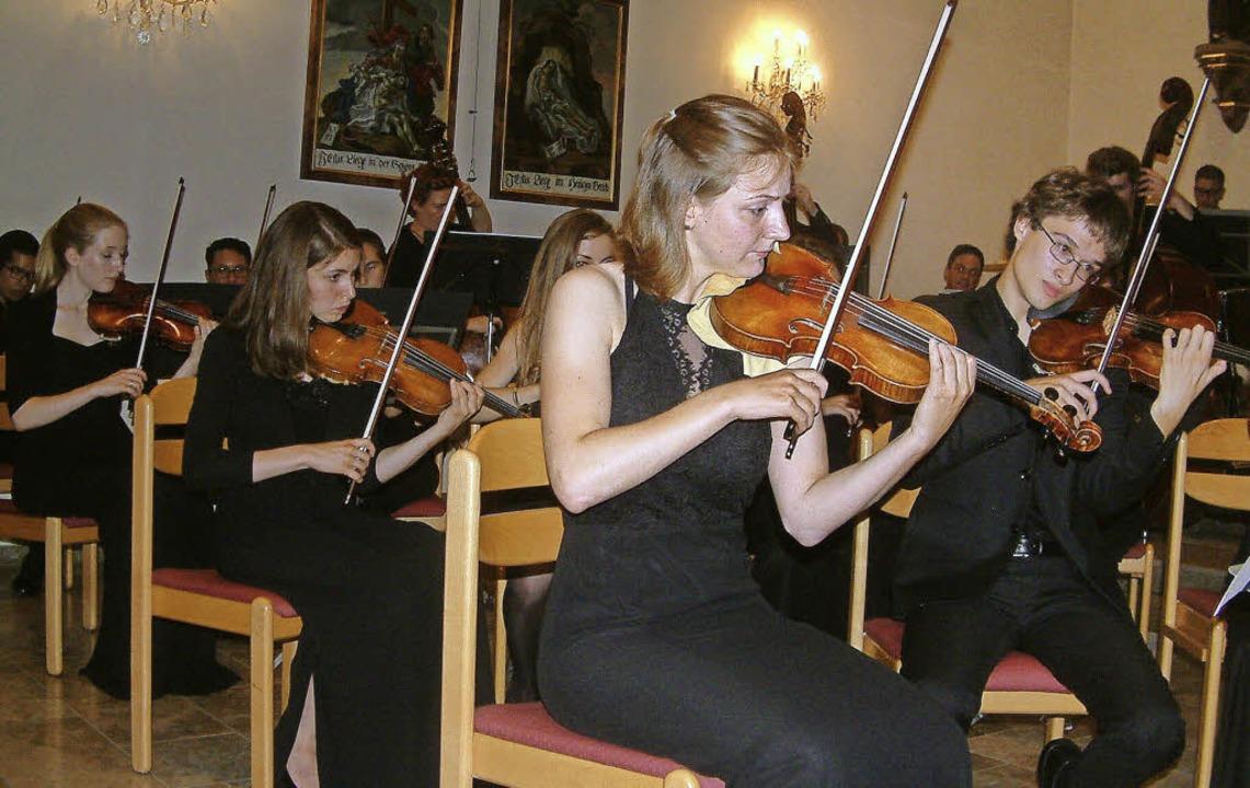 Packend und engagiert spielte das Juge...der Luttinger Pfarrkirche St. Martin.   | Foto: Roswitha Frey