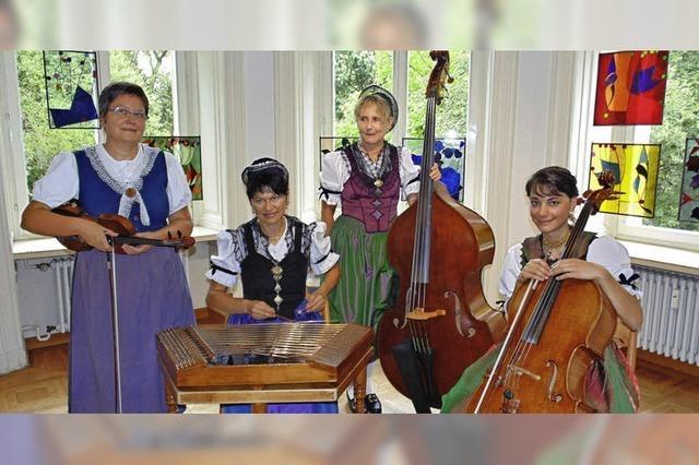 Schöne Trachten und zarte Melodien