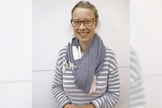 Stella Krekeler, 25, hat am 16. August von 6.23 bis 7.23 auf dem Theater Freiburg gestanden