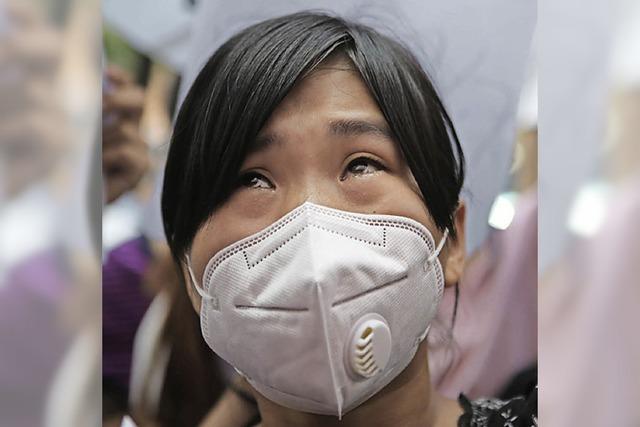 Chemikalien werden entfernt