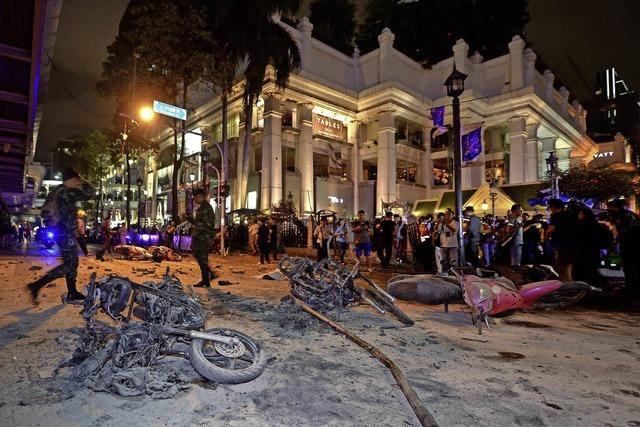 Bombe explodiert in Bangkok