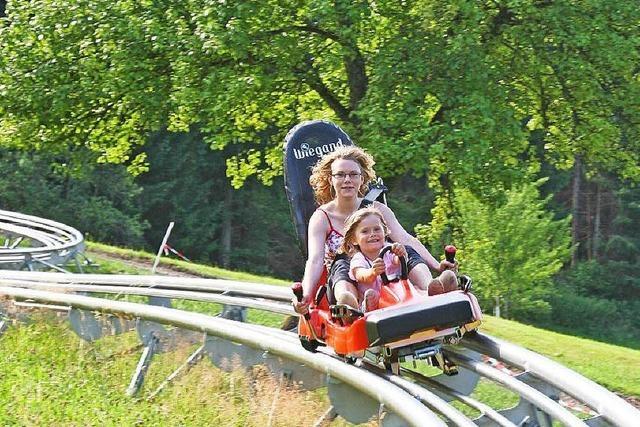 Sommerrodelbahn in Gutach nach Unfall wieder geöffnet
