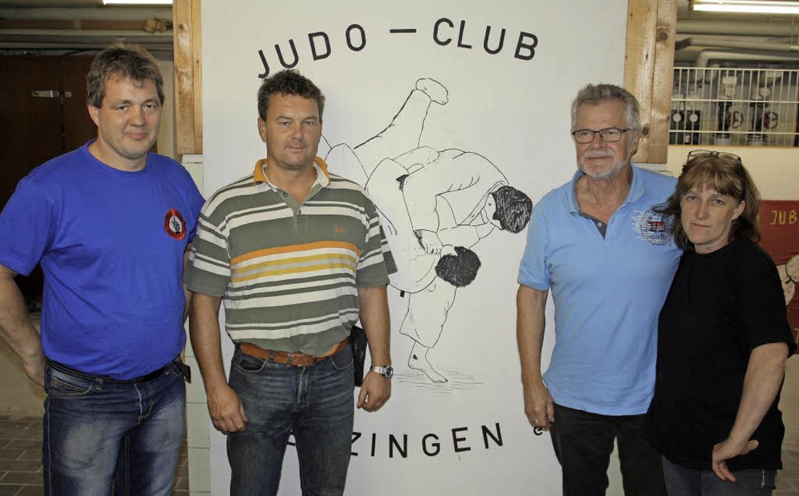 Die Neuen im Judo-Club:  Vorsitzender ...itzende und Kassiererin Jutta Schuler.  | Foto: Werner Schnabl