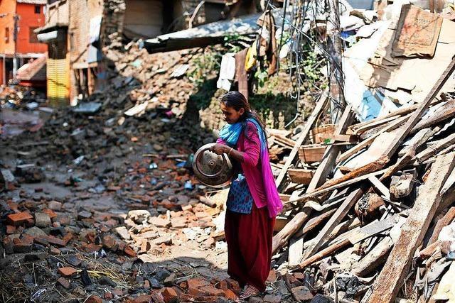 Wie eine Seelbacherin sich für die Erdbebenopfer in Nepal einsetzt