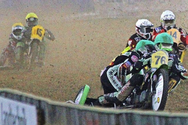 EM-Finale im Seitenwagen-Rennen in Hertingen