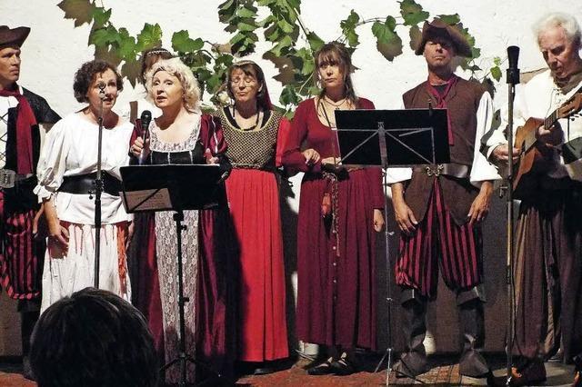 Musik und Handwerk aus alten Zeiten