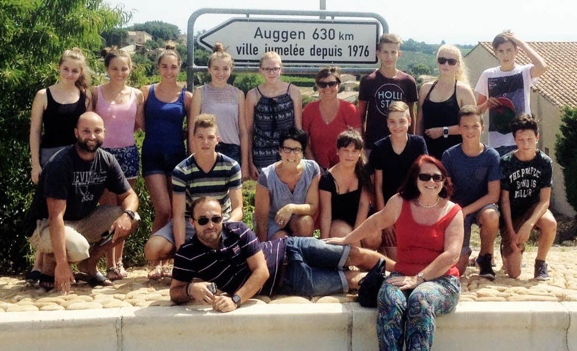 Die 13- bis 19-Jährigen Teilnehmer der...211;  ob auf dem Wasser oder an Land.     Foto: Gemeinde Auggen