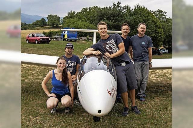 Junge Piloten bleiben lange in der Luft