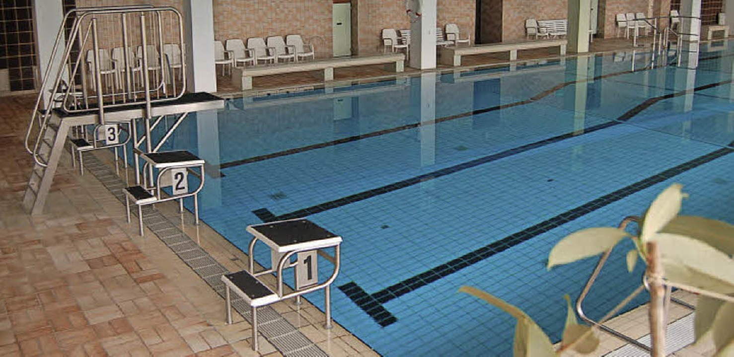 Das Hallenbad Freiamt verfügt über eine komplett neue Sprunganlage.     Foto: Christian Ringwald