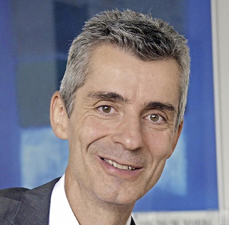 Thomas Nostadt, Geschäftsführer der Wohnbau Lörrach    Foto: Nikolaus Trenz