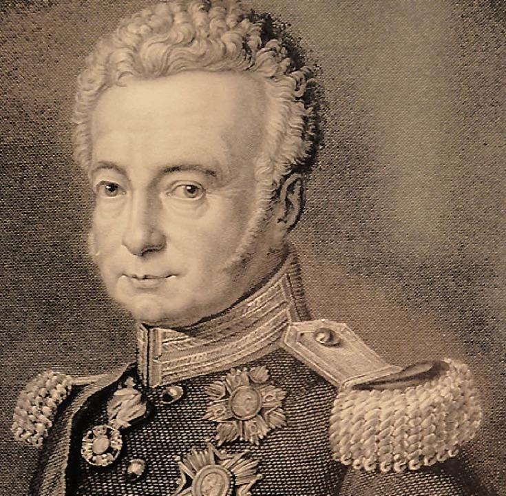 Ludwig I. von Baden    Foto: Hönig