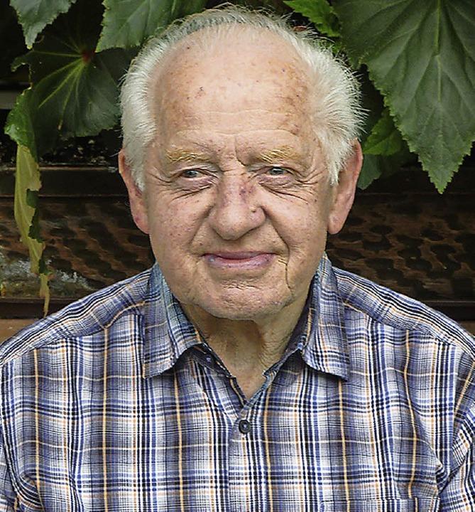 Hartmut Kropf wird heute 80 Jahre alt.     Foto: Sonja Eiche