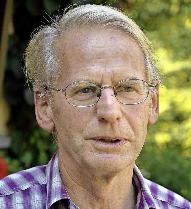 Hans-Peter Karrer ist einer der 20 Preisträger.     Foto: Christiane Weishaupt