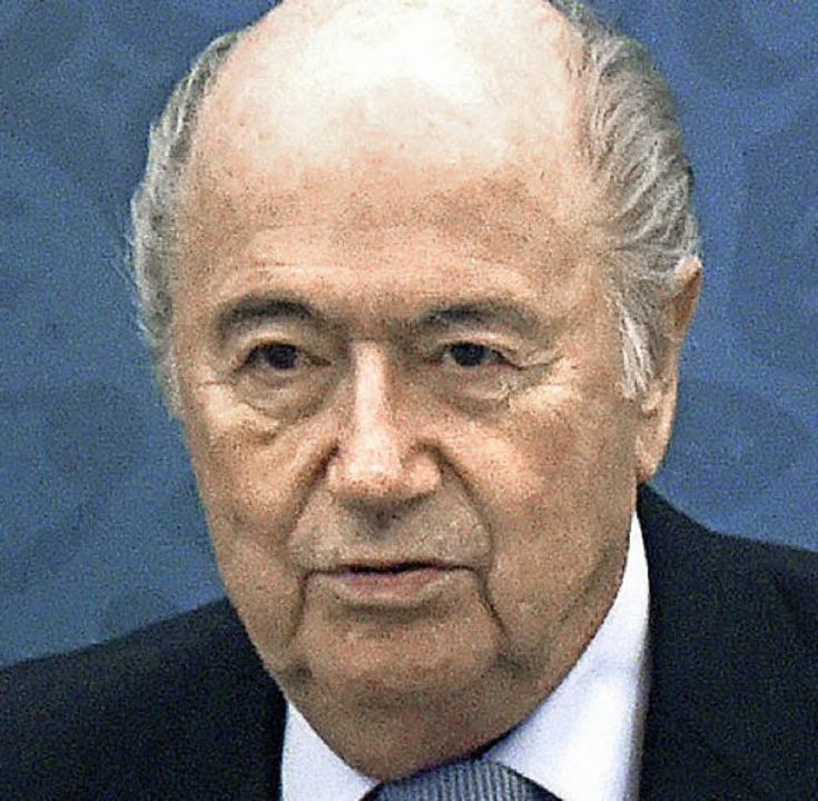 Joseph S. Blatter     Foto: dpa