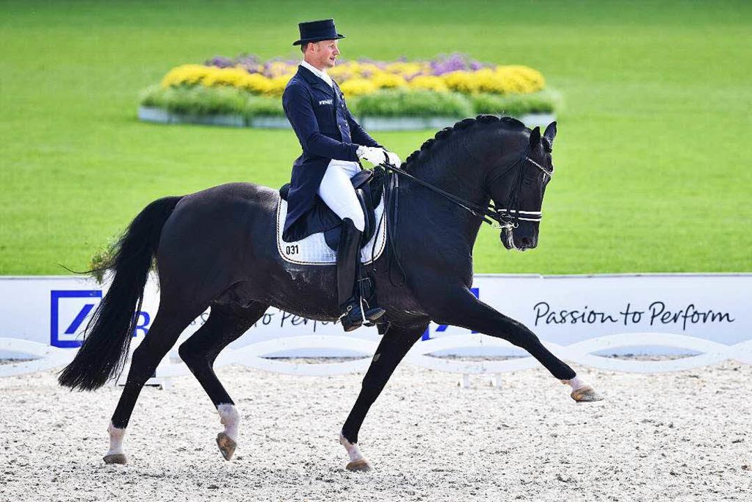 Die Europameisterschaft in Aachen besiegelte die sportliche Karriere.  | Foto: dpa