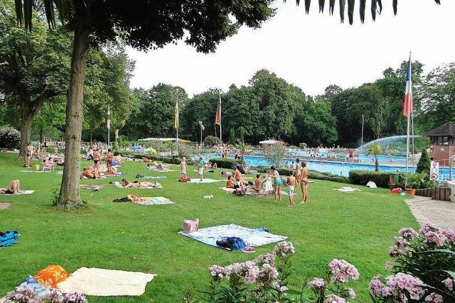 Ein super Sommer für die Freibäder in Breisach, Ihringen und Oberrotweil