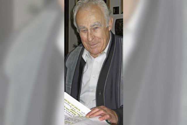 Laufenburgs Altratsschreiber Georg Gerteis ist 87-jährig gestorben
