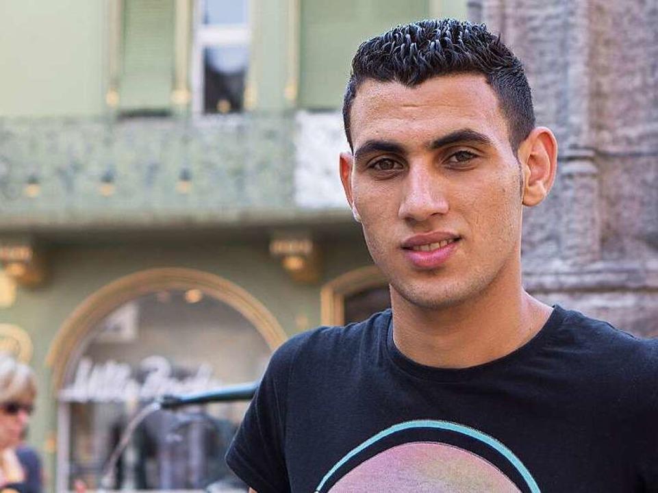 Ahmed Hekal, 19, wäre in seinem Heimat...hland sucht er einen Ausbildungsplatz.  | Foto: Konstantin Goerlich