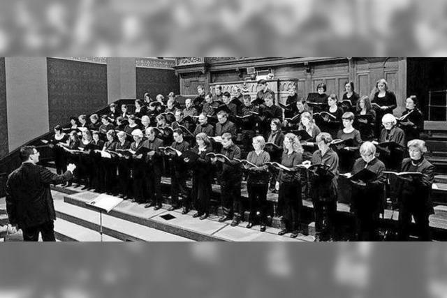 Das Chorensemble Ars Cantata Zürich im Dom zu St. Blasien