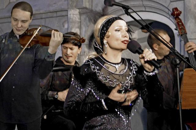 Malena Grandoni und ihr Ensemble in Bad Bellingen