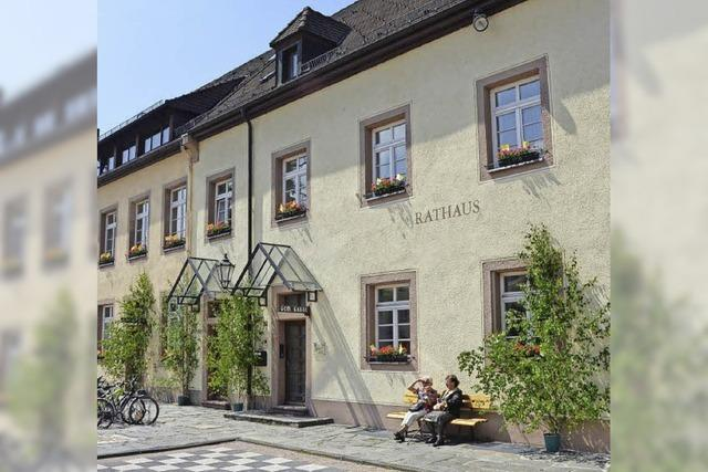 Wohnung für Flüchtlinge im Rathaus
