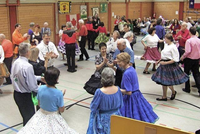 Alle tanzen im Quadrat