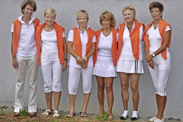 Frauen 60 steigen in die Badenliga auf