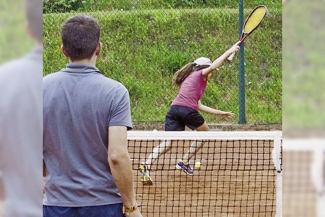 Offenes Tennis-Doppelturnier für Gäste und Einheimische