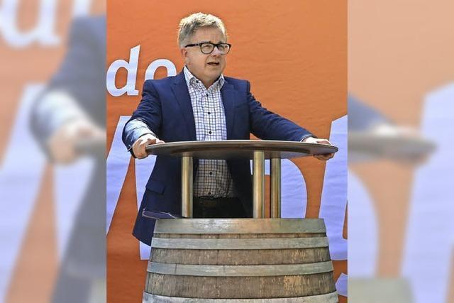 ... kommunalpolitischen Mittagessen mit Gudio Wolf: CDU-Spitzenkandidat serviert einen würzigen Lunch