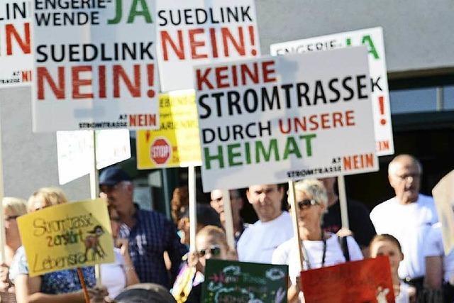 Die Monstertrassen kommen nicht – der Protest geht weiter